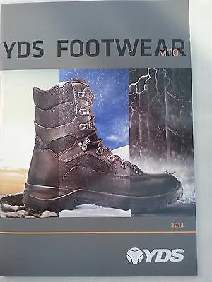 YDS Military Footwear Catalog Booklet / 2013 NEW