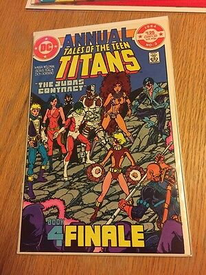 Tales of the Teen Titans Annual #3 (1984, DC) VF Big Auction Going On!