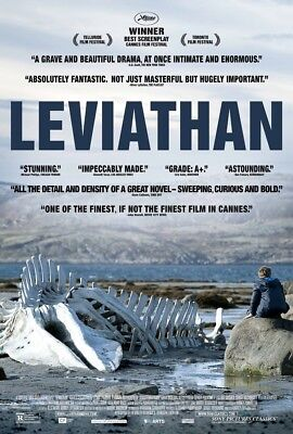 LEVIATHAN MOVIE POSTER 1 Sided ORIGINAL 27x40 ALEKSEY SEREBRYAKOV