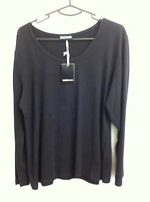 Maternity Plus - Long Sleeve T Shirt/top - Black - Xxl