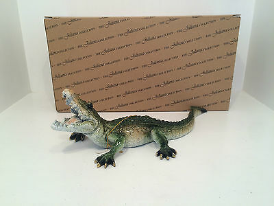 Juliana Natural World Amazing Crocodile Figurine Ornament BRAND NEW BOXED