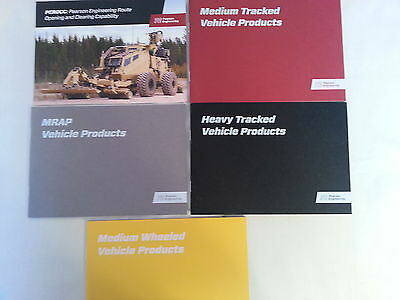 Pearson Engineering Sales Booklets - Equipment for Combat Vehicles