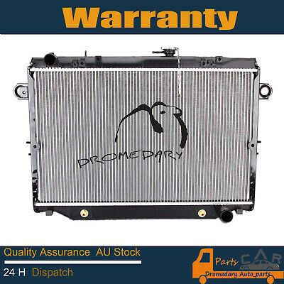 Radiator For Toyota Landcruiser 100 series 4.5L 6cyl 98-05 2 Row Auto/Manual