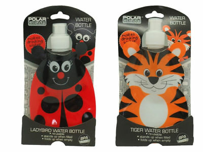 Polar Gear Fold Flat Water Bottle Ladybird / Tiger
