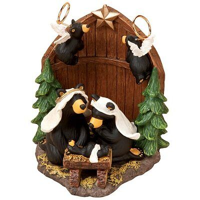 Nib Bearfoots Bear By Jeff Fleming - Beartivity Figurine