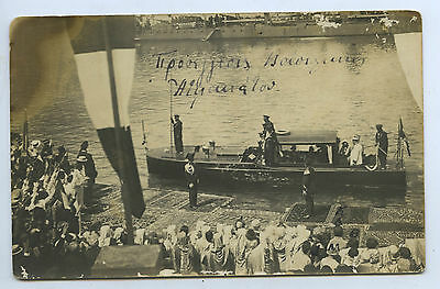 C1905 Rp Pu Postcard Visit By Italian Royal Family To Middle East R37