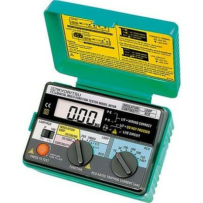 Kyoritsu 6010A Digital Multifunction Tester