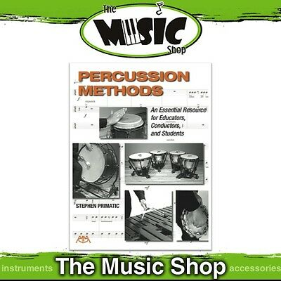 New Percussion Methods: An Essential Resource Music Tuition Book