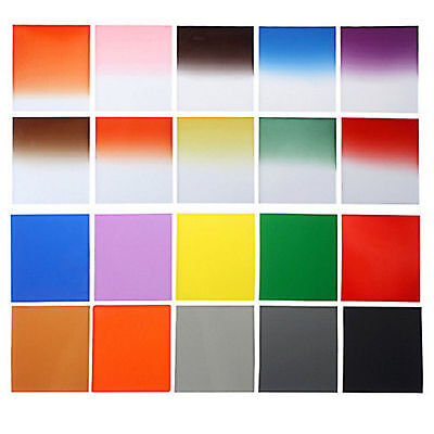 24pcs Full + Graduated Color Filter Set ND2 ND4 ND8 G.ND2 4 8 for Cokin P Series