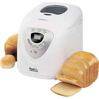 Morphy Richards 48280 2lb 12 Programmes Fastbake Cooltouch Breadmaker in White