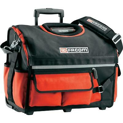 Facom Tools Tote Bag Trolley Toolbox Material In Red On Wheels !