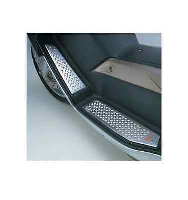 Kymco Xciting 250 Silver Front & Rear Diamond Plate Anti-Slip Footrest Kit