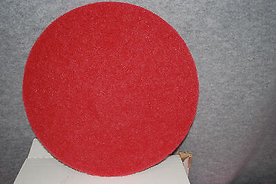"Premiere 17"" Standard RED Floor Buffing Pads #4017 Case of 5 M3959"