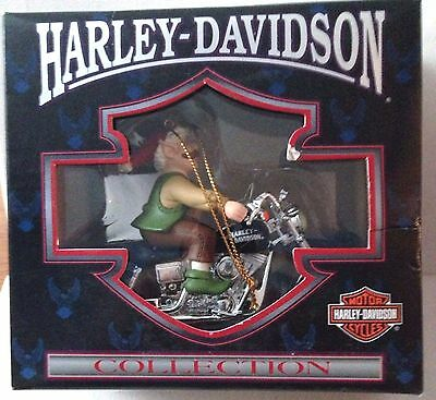 Harley-Davidson Collection North Pole Motorcyle Club Ornament Cavanagh 1998