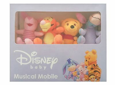 Winnie The Pooh Disney Baby Like a Cloud  Musical Cot Mobile New In Box Boy Girl