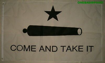 Come and Take It  1778 Texas Gonzales 5/'x3/' Flag