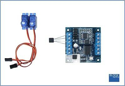 BLOCKsignalling LCS5 Level Crossing Controller for Servo Barriers Gates & LEDs