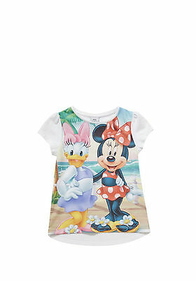 England Disney Minnie&daisy Beach T-Shirt Top Oberteil 80-86-98-104-110-116-122