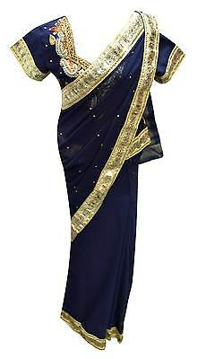 Indian girls bollywood party kids ready to wear lehenga sarees wedding  UK 1206