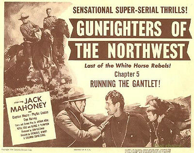 Gunfighters of the Northwest -  Movie  Cliffhanger Serial DVD Jock Mahoney