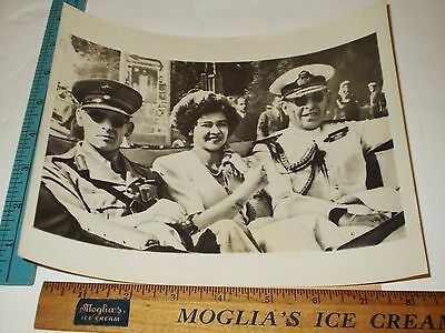Rare Historical Orig VTG 1946 HRH Paul & Frederika King George II Greece Photo