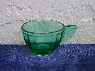 Akro Agate Small Interior Panel Cup  Green