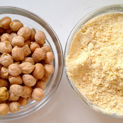 Gram Flour and Whole - Garbanzo Bean Chickpea Chick Pea Besan - Hummus Falafel -