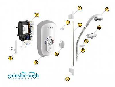 Replacement Gainsborough 10.5Kw SDL Shower Engine Direct Swap no new Plumbing