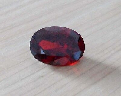 Gorgeous 13X18mm AAAAA Blood Red Ruby 13.76ct Oval Faceted Cut VVS Loose Gems