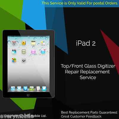 iPad 2 Glass Digitizer Touch Screen Replacement Repair Service