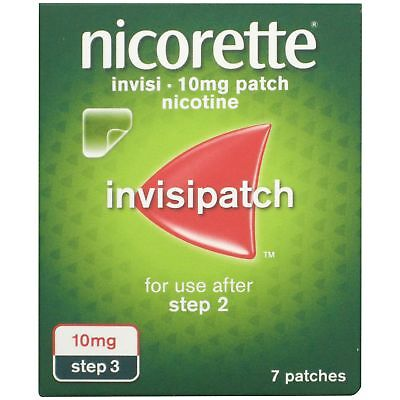 Nicorette Invisi Patch 10mg (7 patches) Step 3