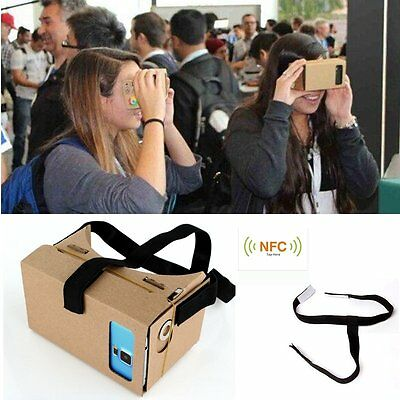 4.7 Google Cardboard Valencia Quality Virtual Reality VR 3D Glasses with NFC Tag