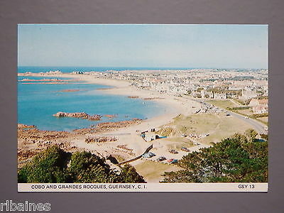 R&L Postcard: Cobo and Grandes Rocques, Guernsey, Channel Islands