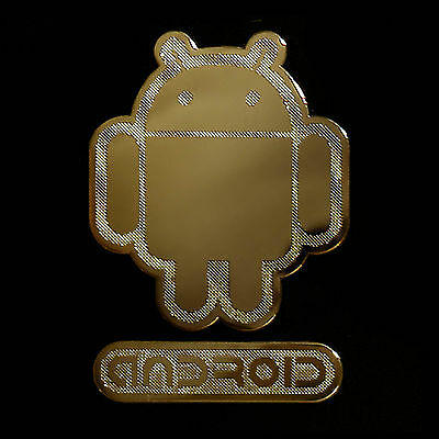 Android Androbot Metal decal sticker For Cell phone Smartphone mobile