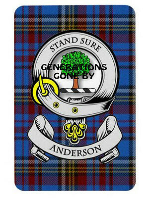 Anderson Clan Fridge Magnet