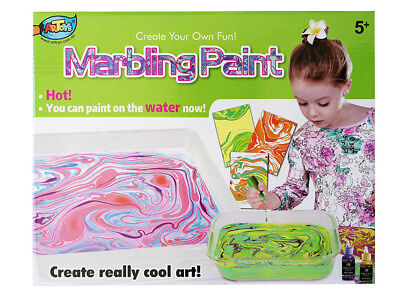 Innovation Marbling Paint Set 6 colours Fabric and Paper Art Fantastic Craft Fun