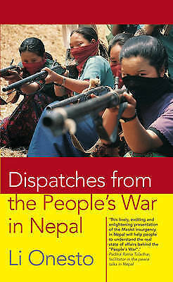 Dispatches From the People's War in Nepal,Onesto, Li,New Book mon0000049739