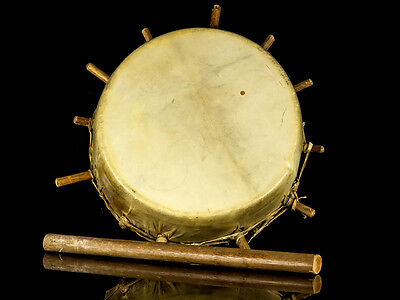Early 20th Century Plains Native North American Drum