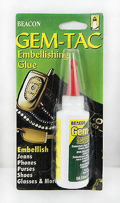 59ml Gem-Tac Embellishment Glue from Beacon