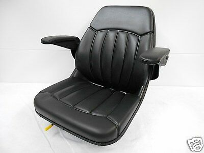 Black Seat W/ Arm Rests Ditch Witch, Vermeer, Trencher,Cable Plow,Boring #Jm