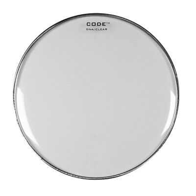 "CODE ""DNA"" Clear Single Ply Drum Heads 8""/10""/12""/13""/14""/16""/18"""