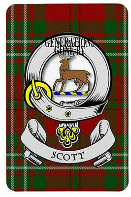 Scott Clan Fridge Magnet