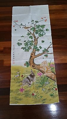 Picture off Bird by Fangmeng Xiong Contemporary artist Chinese Antique