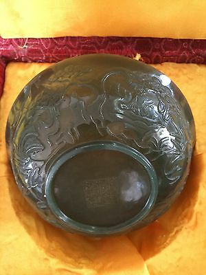 Qinghai jade Bowl Qianlong year Chinese Antique