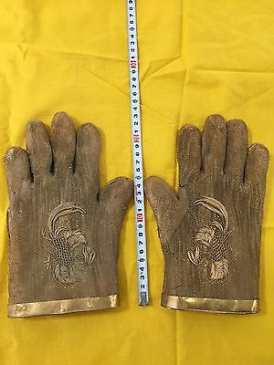 Gold Gloves Chinese Antique