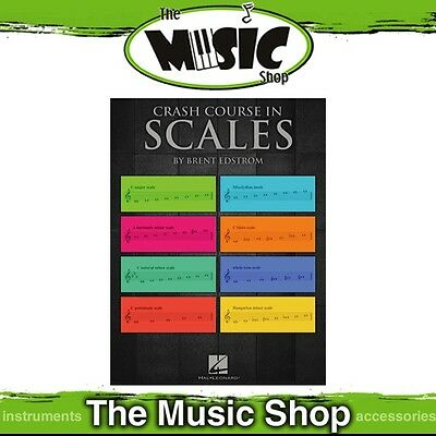 New Crash Course in Scales Music Theory Tuition Book