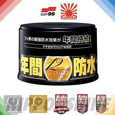 Soft99 Fusso coat Dark PTFE Car Wax NO IMPORT DUTY! JDM FAST NEXT DAY delivery!