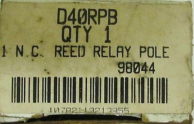 CUTLER HAMMER D40RPB 1 NC Reed Relay Pole Yellow