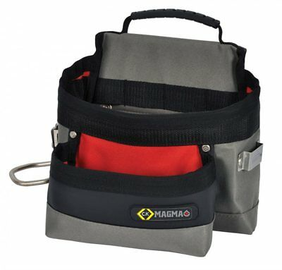 CK Magma Builders/Tradesman Tool Belt Bag/Pouch With Tape &Hammer Holder MA2716A
