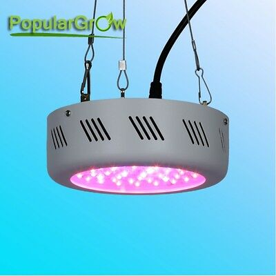 Populargrow138W UFO Full Spectrum LED Grow Light  Hydroponic Plants  Veg Flower